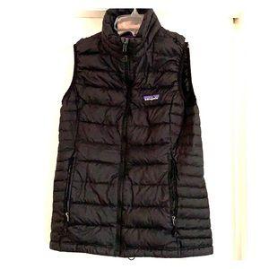 Black Patagonia Down Puff Vest